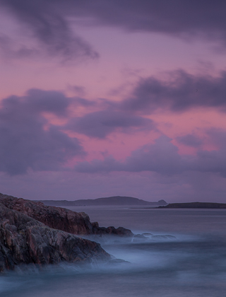 Faraid Head Twilight, Sutherland, Scotland, by Andrew Jones